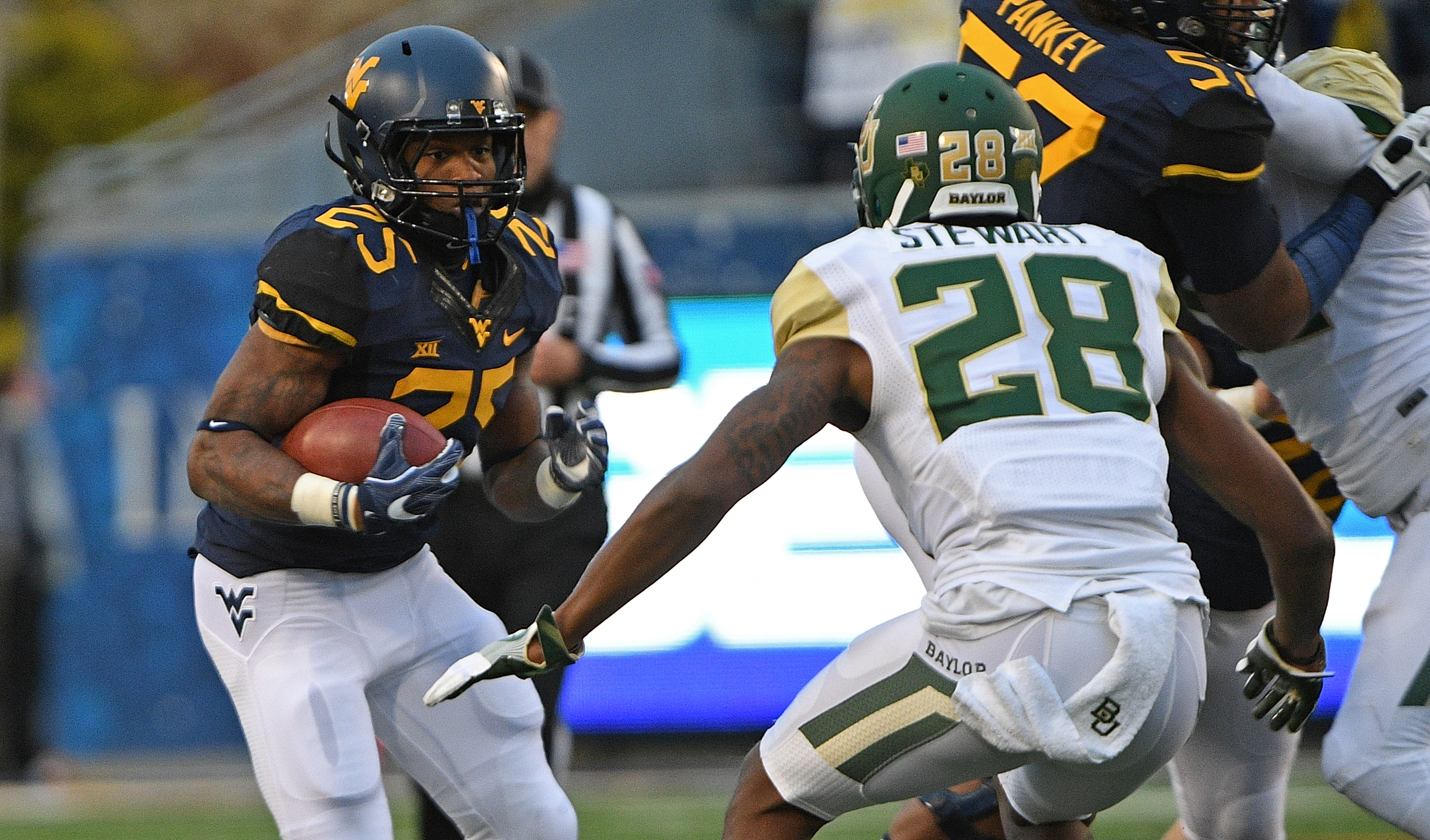 West Virginia vs. Baylor football