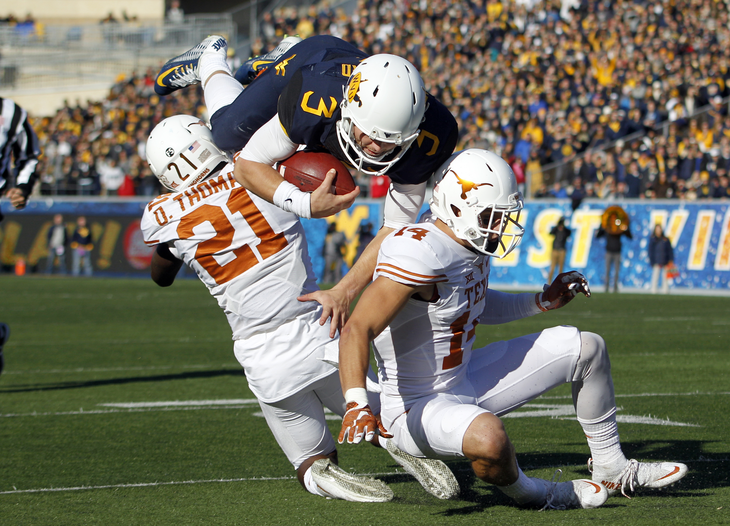 West Virginia QB Will Grier out several weeks